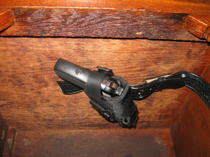 DIY Under-Desk Holster