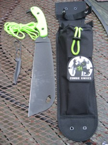 "Ka-Bar ""Zombie Killer"" (ZK) Zomstro Tactical Cleaver"