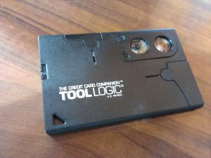Tool Logic Credit Card Companion (from Base Camp Echo)